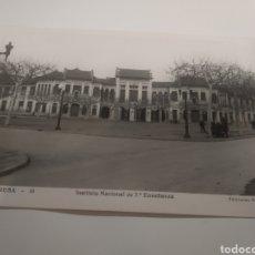 Postales: POSTAL DE MANRESA INSTITUTO LLUIS DE PEGUERA. Lote 198080023