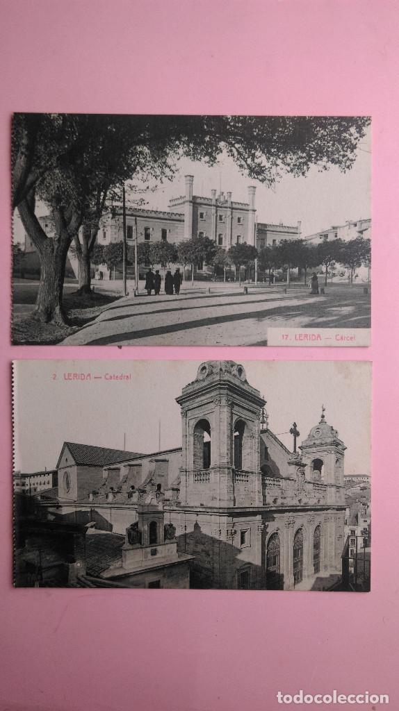 Postales: PR-95.- LOTE DE - 8 - POSTALES DE -- LERIDA -- VARIOS LUGARES DE LA CIUDAD, VER FOTOS DE TODAS - Foto 3 - 198505800