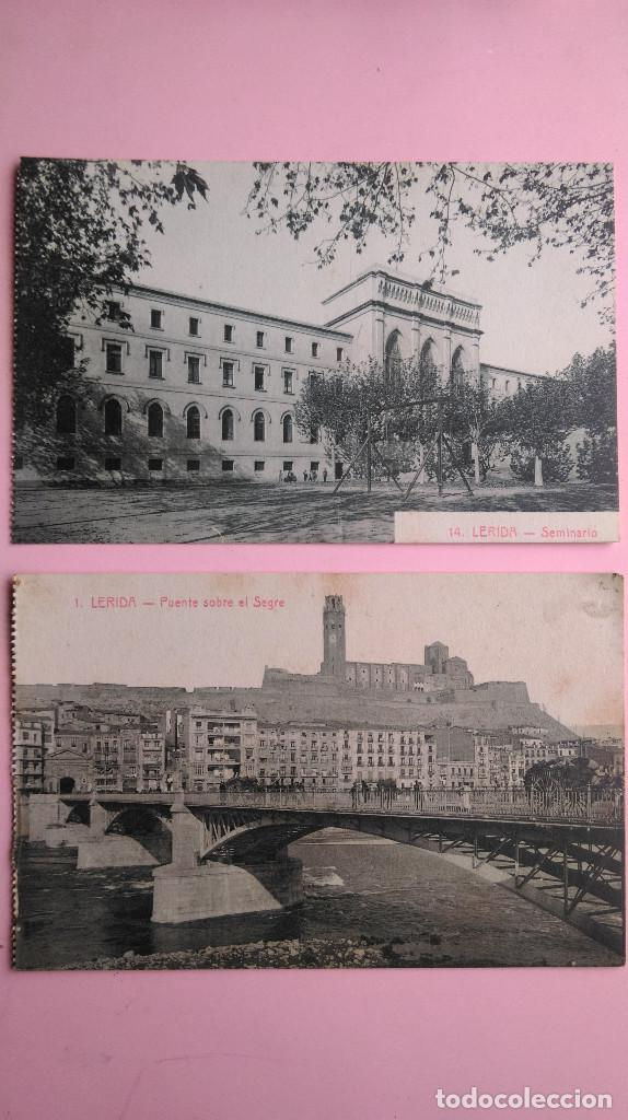 Postales: PR-95.- LOTE DE - 8 - POSTALES DE -- LERIDA -- VARIOS LUGARES DE LA CIUDAD, VER FOTOS DE TODAS - Foto 4 - 198505800