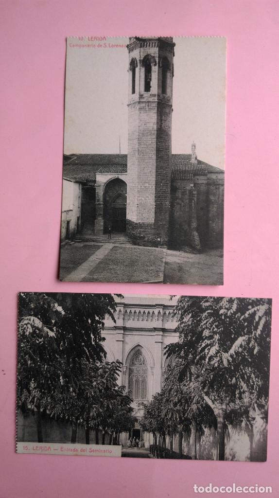 Postales: PR-95.- LOTE DE - 8 - POSTALES DE -- LERIDA -- VARIOS LUGARES DE LA CIUDAD, VER FOTOS DE TODAS - Foto 5 - 198505800