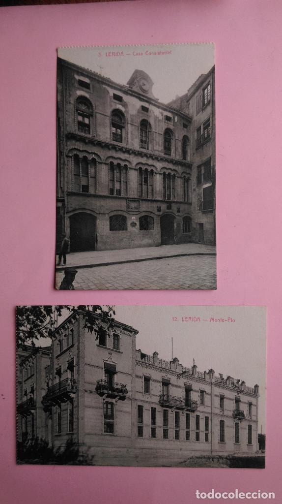 Postales: PR-95.- LOTE DE - 8 - POSTALES DE -- LERIDA -- VARIOS LUGARES DE LA CIUDAD, VER FOTOS DE TODAS - Foto 6 - 198505800