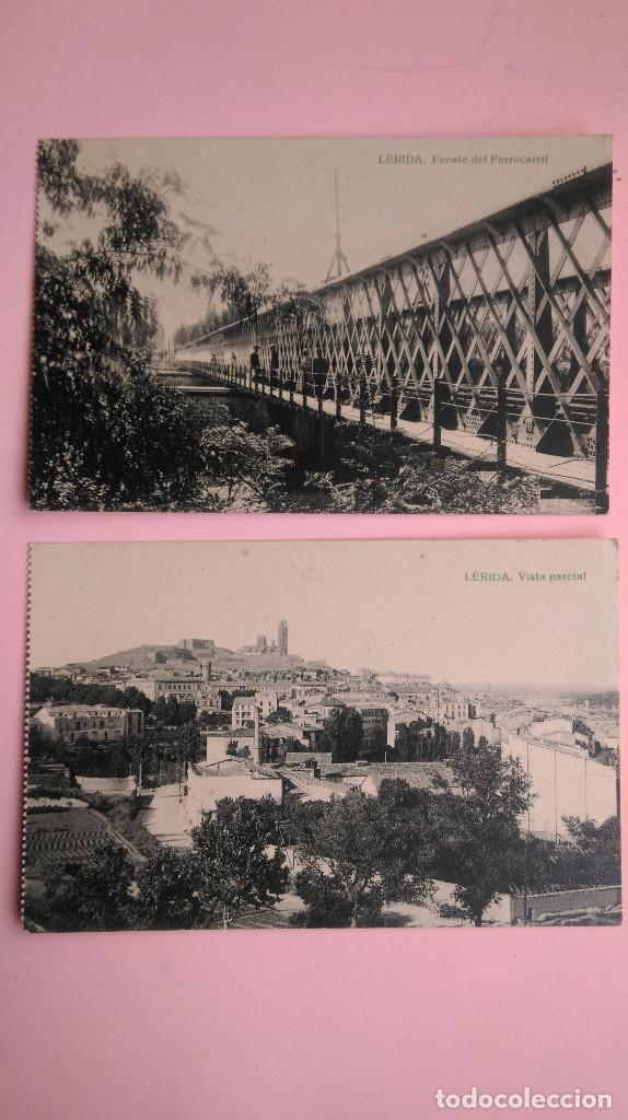 Postales: PR-170.- LOTE DE -- 5 -- POSTALES DE -- LERIDA -- VARIOS LUGARES DE LA CIUDAD, VER FOTOS DE TODAS - Foto 4 - 198634528