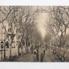 Postales: POSTAL ANTIGUA BARCELONA - PASEO DE GRACIA. Lote 198902325