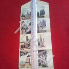 Postales: TUBAL 5 POSTALES FOLLETO EN ACORDEON BARCELONA 1959 B65. Lote 198941307