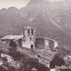 Cartoline: BARCELONA MONTSENY ERMITA DE SAN MARSAL. ED LUIS TASSO Nº 1-66. CIRCULADA EN 1917. Lote 199140298