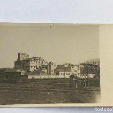 Postales: FÁBRICA DE HARINAS LA MONTSERRAT - GIRONA. GENER 1919. POSTAL FOTOGRÁFICA.. Lote 199351405