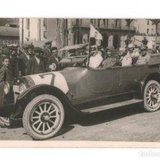 Postales: AUTOMOVILISMO, CARRERA, JUNIO 1920. POSTAL FOTOGRÁFICA CIRCULADA.. Lote 199355907