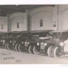 Postales: GARAJE CALICÓ - GERONA. AÑO 1921. POSTAL FOTOGRÁFICA. POSTAL FOTOGRÁFICA.. Lote 199356880