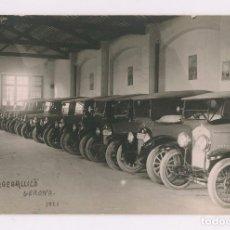 Postales: GARAJE CALICÓ - GERONA. AÑO 1921. POSTAL FOTOGRÁFICA. POSTAL FOTOGRÁFICA.. Lote 199357098
