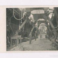 Postales: CENTRAL TÉRMICA DE SANT ADRIÀ DEL BESÓS, JUNIO 1917. POSTAL FOTOGRÁFICA.. Lote 199361062