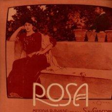 Postales: LUIGI DENZA : ROSA (RICORDI, 1907) SOLAMENTE CUBIERTA ILUSTRADA POR ALEARDO TERZI. Lote 200510041
