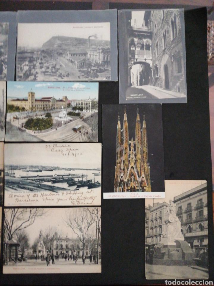 Postales: BARCELONA, LOTE DE 14 POSTALES PRINCIPO SIGLO XX - Foto 3 - 200655530