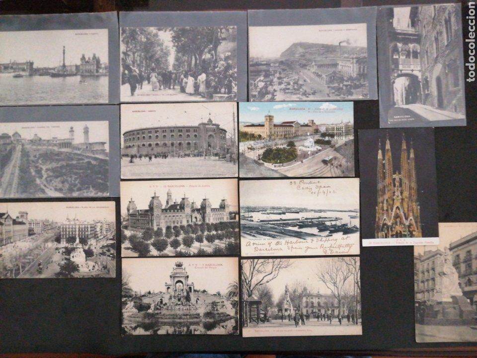 BARCELONA, LOTE DE 14 POSTALES PRINCIPO SIGLO XX (Postales - España - Cataluña Antigua (hasta 1939))