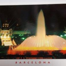 Postales: POSTAL FONT MAGICA MONTJUIC BARCELONA. Lote 201194935