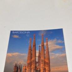 Postales: POSTAL TEMPLE DE LA SAGRADA FAMILIA A. GAUDI BARCELONA. Lote 201195273
