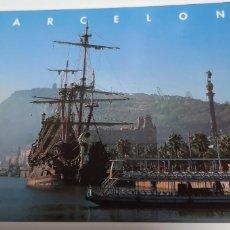 Postales: POSTAL MOLL DE LA FUSTA BARCELONA. Lote 201196601