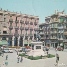Postales: LOTE B-POSTAL REUS AÑO 1963 TIENE ALGUNA ARRUGA. Lote 201492243