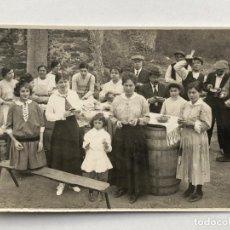 Postales: ANADA ALS ÀNGELS, 1916. CASA DE LES FIGUES, ARXIU JOSEP ENSESA PUJADES. POSTAL FOTOGRÁFICA.. Lote 201682011