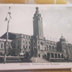 Postales: LOTE 12 POSTALES EXPOSICIÓN INTERNACIONAL BARCELONA 1929. Lote 202007826