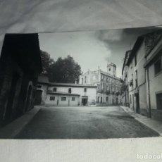 Postales: ANTIGUA POSTAL RIUDARENAS PLAZA ESCRITA CON SELLO. Lote 202995675