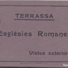 Postales: TARRASA (BARCELONA) - TACO CON 10 POSTALES DE IGLESIAS ROMANICAS. Lote 203011797