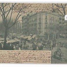 Postales: BARCELONA - LOS ENCANTES - MERCAT DE SANT ANTONI - P30794. Lote 203061367
