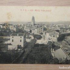 Postales: POSTAL A.T.V.- 426 - REUS, VISTA GENERAL ATV 1906-1923 ÁNGEL TOLDRÀ VIAZO. BARCELONA. ORIGINAL. Lote 203729730