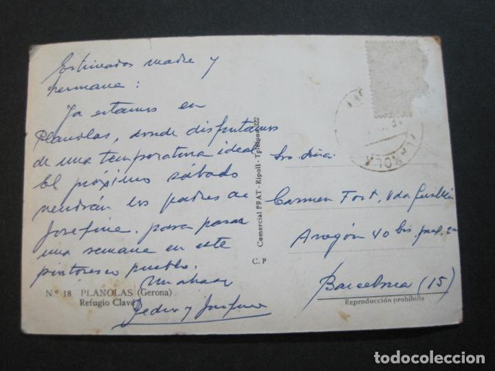 Postales: PLANOLAS-REFUGIO CLAVE-COMERCIAL PRAT-18-POSTAL ANTIGUA-(69.730) - Foto 3 - 203834777
