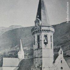 Postales: VALL D'ARAN-VIELLA-IGLESIA-POSTAL ANTIGUA-(69.801). Lote 203939571