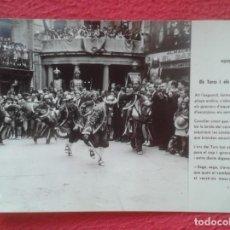 Postales: TARJETA TIPO POSTAL BERGA BARCELONA LA PATUM FOTO DESEURAS ELS TURCS Y ELS CAVALLETS CAVALLER....VER. Lote 203970056
