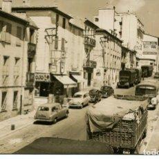 Postales: LOS LIMITES-LE PERTHUS-CARRETERA DE FRANCIA-FOTOGRÁFICA MUY RARA. Lote 204137382