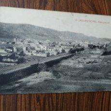 Postales: EST5. PO109. TARJETA POSTAL. 2. MOLINS DE REI. VISTA PARCIAL. 1927. Lote 204696786