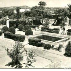 Postales: VENDRELL-SAN SALVADOR-JARDINES PAU CASALS- 1960-FOTOGRÁFICA CAMPANYA- RARA. Lote 204748700
