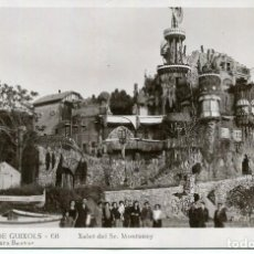 Postales: SANT FELIU DE GUIXOLS-S'AGARO- XALET SR. MONTSENY-FOTOGRÁFICA ROMANI. Lote 204776652