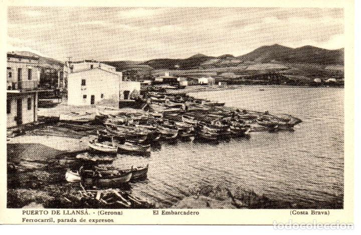 POSTAL ANTIGUA DE LLANÇÀ (Postales - España - Cataluña Antigua (hasta 1939))