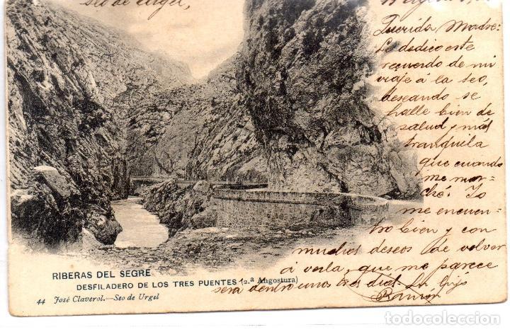 POSTAL ANTIGA DE LA SEO D´ URGELL (Postales - España - Cataluña Antigua (hasta 1939))
