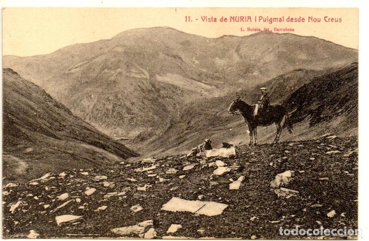 POSTAL ANTIGA DE NURIA (Postales - España - Cataluña Antigua (hasta 1939))