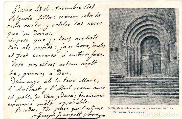 POSTAL ANTIGA DE GIRONA (Postales - España - Cataluña Antigua (hasta 1939))
