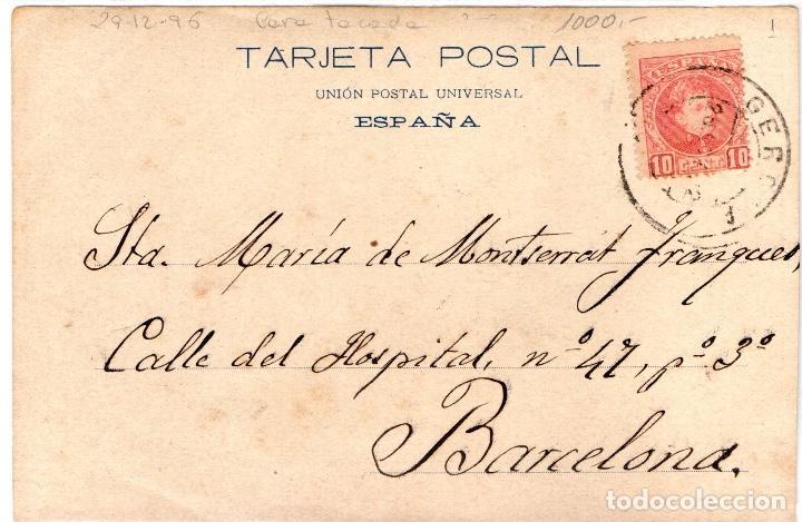 Postales: postal antiga de Girona - Foto 2 - 204815865