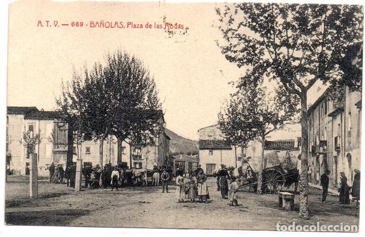 POSTAL ANTIGA DE BANYOLES (Postales - España - Cataluña Antigua (hasta 1939))