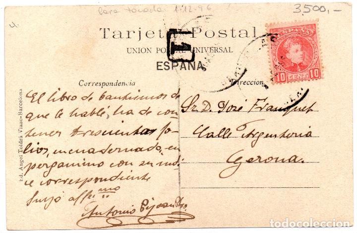 Postales: postal antiga de Banyoles - Foto 2 - 204816112