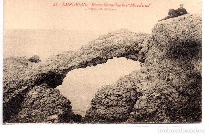 POSTAL ANTIGA DE EMPURIAS (Postales - España - Cataluña Antigua (hasta 1939))