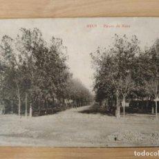 """Postais: POSTAL: """"REUS - PASEO DE MATA"""". UPU 1912. ORIGINAL. Lote 204824040"""