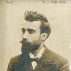 Postales: SANT ANDREU DE PALOMAR-IGNASI IGLESIAS-TEATRE CATALÁ--FOTOGRÁFICA PUIGFERRAT AÑO 1896 -MUY RARA. Lote 204966665