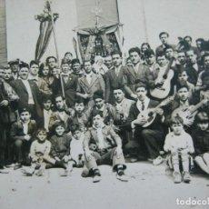 Postales: SANTA COLOMA DE GRAMANET-SOCIEDAD CORAL DEL ARRABAL-FOTOGRAFIA ANTIGUA-(70.385). Lote 205061643