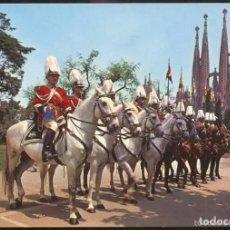 Cartoline: POSTAL * BARCELONA , SECCIÓ MUNTADA POLICIA MUNICIPAL * 1964. Lote 278435463