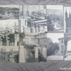 Postales: COLEGIO SAN IGNACIO. SARRIA. BARCELONA. LOTE 12 POSTALES ORIGINALES. Lote 205377865