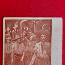 Postales: POSTAL CATALANA ILUSTRADA BON COP DE FALÇ ..... ORIGINAL P982. Lote 205389855