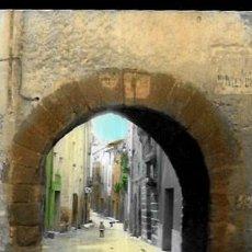 Postales: POSTAL COLOREADA * ALCOVER ( TARRAGONA ) , VISTA PARCIAL * 1970. Lote 205541195