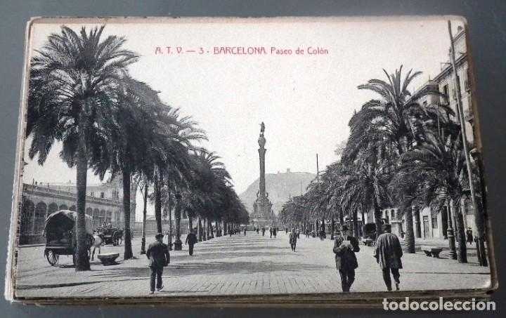 Postales: LOTE DE 58 POSTALES ANTIGUAS DE CATALUNYA - ÁNGEL TOLDRÁ VIANZO - ATV - Foto 2 - 205583380